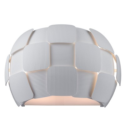 Светильник настенный Divinare 1317/01 AP-2Хай-тек<br><br><br>Тип цоколя: E14<br>Количество ламп: 2<br>MAX мощность ламп, Вт: 13<br>Диаметр, мм мм: 170<br>Длина, мм: 320<br>Высота, мм: 200<br>Цвет арматуры: белый