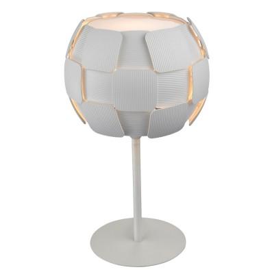 Светильник настольный Divinare 1317/01 TL-1Хай тек<br>Настольная лампа – это не просто источник дополнительного освещения, но и оригинальный элемент декора. Его можно установить в спальне, гостиной, кабинете и других комнатах. Интернет-магазин «Светодом» предлагает настольные лампы разных стилей по доступным ценам. Благодаря большому ассортименту Вы обязательно найдете в нашем каталоге именно ту модель, которую искали.   Настольная лампа Divinare 1317/01 TL-1 – прекрасный вариант для завершения интерьера. Ее можно включить одновременно с люстрой для более яркого освещения или без нее для создания уютной атмосферы, настраивающей на отдых.   Купить настольную лампу Divinare 1317/01 TL-1 Вы можете с помощью виртуальной «Корзины» или по контактным номерам, указанным на сайте.<br><br>Тип цоколя: E27<br>Количество ламп: 1<br>MAX мощность ламп, Вт: 26<br>Диаметр, мм мм: 280<br>Длина, мм: 280<br>Высота, мм: 470<br>Цвет арматуры: белый