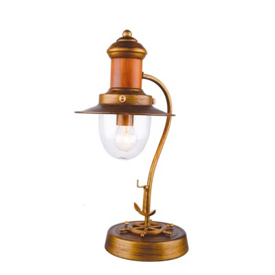 Светильник настольный Favourite 1321-1TМорской стиль<br>Настольная лампа – это не просто источник дополнительного освещения, но и оригинальный элемент декора. Его можно установить в спальне, гостиной, кабинете и других комнатах. Интернет-магазин «Светодом» предлагает настольные лампы разных стилей по доступным ценам. Благодаря большому ассортименту Вы обязательно найдете в нашем каталоге именно ту модель, которую искали.   Настольная лампа Favourite 1321-1T – прекрасный вариант для завершения интерьера. Ее можно включить одновременно с люстрой для более яркого освещения или без нее для создания уютной атмосферы, настраивающей на отдых.   Купить настольную лампу Favourite 1321-1T Вы можете с помощью виртуальной «Корзины» или по контактным номерам, указанным на сайте.<br><br>S освещ. до, м2: 2<br>Тип лампы: накаливания / энергосбережения / LED-светодиодная<br>Тип цоколя: E14<br>Количество ламп: 1<br>MAX мощность ламп, Вт: 40<br>Диаметр, мм мм: 230<br>Размеры: D230*H400<br>Высота, мм: 400<br>Цвет арматуры: золотой