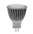 Лампа Gauss LED MR11 3W SMD GU4 2700K D35*45 ЕВ132517103 FROST