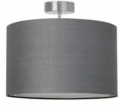 Люстра потолочная Brilliant 13291/22 сераяПотолочные<br><br><br>Установка на натяжной потолок: Да<br>S освещ. до, м2: 4<br>Крепление: Планка<br>Тип товара: Люстра<br>Тип лампы: накаливания / энергосбережения / LED-светодиодная<br>Тип цоколя: E27<br>Количество ламп: 1<br>MAX мощность ламп, Вт: 60<br>Диаметр, мм мм: 400<br>Высота, мм: 330<br>Цвет арматуры: серебристый