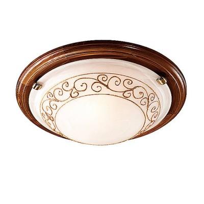 Сонекс BAROCCO 134/K настенно-потолочный светильникКруглые<br>Настенно-потолочные светильники – это универсальные осветительные варианты, которые подходят для вертикального и горизонтального монтажа. В интернет-магазине «Светодом» Вы можете приобрести подобные модели по выгодной стоимости. В нашем каталоге представлены как бюджетные варианты, так и эксклюзивные изделия от производителей, которые уже давно заслужили доверие дизайнеров и простых покупателей.  Настенно-потолочный светильник Сонекс 134/K станет прекрасным дополнением к основному освещению. Благодаря качественному исполнению и применению современных технологий при производстве эта модель будет радовать Вас своим привлекательным внешним видом долгое время. Приобрести настенно-потолочный светильник Сонекс 134/K можно, находясь в любой точке России. Компания «Светодом» осуществляет доставку заказов не только по Москве и Екатеринбургу, но и в остальные города.<br><br>S освещ. до, м2: 6<br>Тип лампы: Накаливания / энергосбережения / светодиодная<br>Тип цоколя: E27<br>Количество ламп: 2<br>MAX мощность ламп, Вт: 60<br>Диаметр, мм мм: 360<br>Высота, мм: 110