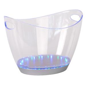 ведёрко для льда Lucide 13502/06/60 ICE BUCKETПодарки и сувениры<br><br><br>Тип лампы: LED - светодиодная<br>Тип цоколя: LED<br>Цвет арматуры: прозрачный<br>Количество ламп: 28<br>Ширина, мм: 405<br>Высота, мм: 280<br>MAX мощность ламп, Вт: 0,05