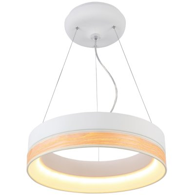 Люстра светодиодная Favourite 1357-120pПодвесные<br>Светодиодная люстра в стиле хай тек для зала и гостиной<br><br>Установка на натяжной потолок: Да<br>S освещ. до, м2: 17<br>Крепление: Планка<br>Тип лампы: LED - светодиодная<br>Тип цоколя: Samsung LED 120/43Wmax, Lumen3925/4060<br>Количество ламп: 120<br>MAX мощность ламп, Вт: 0,36<br>Диаметр, мм мм: 440<br>Размеры: D440*H105<br>Высота, мм: 105<br>Цвет арматуры: белый