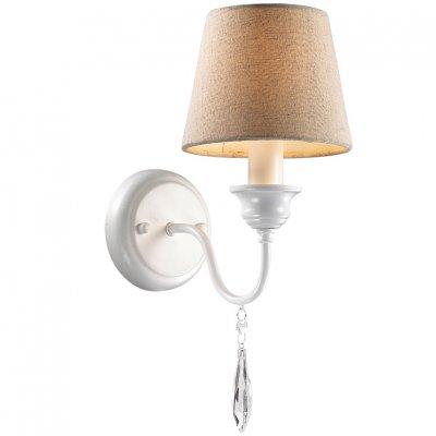 Светильник Favourite 1379-1wРустика<br><br><br>S освещ. до, м2: 2<br>Тип лампы: накаливания / энергосбережения / LED-светодиодная<br>Тип цоколя: E14<br>Количество ламп: 1<br>Ширина, мм: 160<br>MAX мощность ламп, Вт: 40<br>Диаметр, мм мм: 240<br>Размеры: W160*H400*D240<br>Высота, мм: 400<br>Цвет арматуры: белый