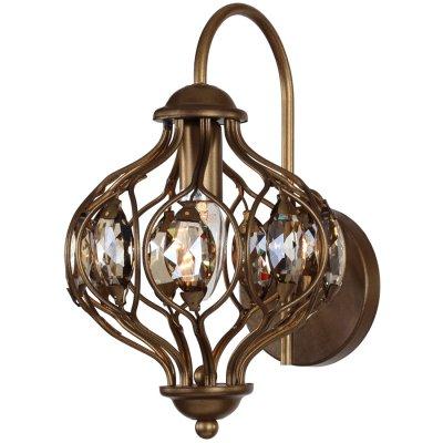Светильник турецкий Favourite 1382-1WРустика<br>Настенный светильник бра в турецком (восточном) стиле подойдет как для установки внутри помещений - гостиной, коридора или общественного питания, так и для улицы - беседки, веранды.<br><br>S освещ. до, м2: 2<br>Тип лампы: накаливания / энергосбережения / LED-светодиодная<br>Тип цоколя: E14<br>Цвет арматуры: коричневый<br>Количество ламп: 1<br>Ширина, мм: 200<br>Диаметр, мм мм: 270<br>Размеры: W200*H320*D270<br>Высота, мм: 320<br>MAX мощность ламп, Вт: 40