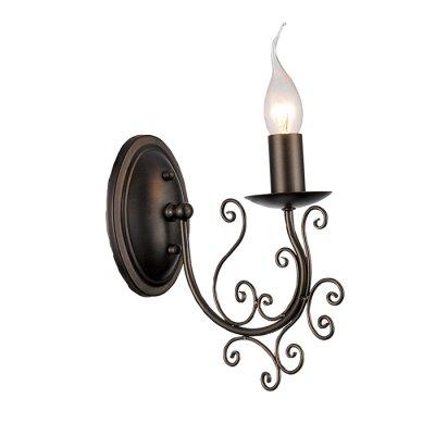 Светильник Favourite 1400-1wАрхив<br><br><br>S освещ. до, м2: 2<br>Тип лампы: накаливания / энергосбережения / LED-светодиодная<br>Тип цоколя: E14<br>Цвет арматуры: коричневый<br>Количество ламп: 1<br>Ширина, мм: 115<br>Диаметр, мм мм: 225<br>Высота, мм: 240<br>MAX мощность ламп, Вт: 40