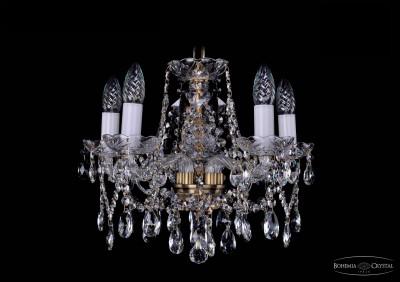 Люстра хрустальная Bohemia Ivele 1413/5/141/PaПодвесные<br><br><br>Установка на натяжной потолок: Да<br>S освещ. до, м2: 13<br>Крепление: Крюк<br>Тип товара: Люстра хрустальная<br>Тип лампы: накаливания / энергосбережения / LED-светодиодная<br>Тип цоколя: E14<br>Количество ламп: 5<br>MAX мощность ламп, Вт: 60<br>Диаметр, мм мм: 460<br>Размеры: Диаметр - 42см<br>Высота, мм: 340<br>Цвет арматуры: бронзовый