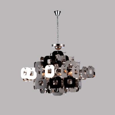 Светильник Favourite 1425-6PCПодвесные<br><br><br>Установка на натяжной потолок: Да<br>S освещ. до, м2: 16<br>Крепление: Крюк<br>Тип товара: Люстра 2в1, потолочный/подвесной<br>Скидка, %: 15<br>Тип лампы: накаливания / энергосбережения / LED-светодиодная<br>Тип цоколя: E14<br>Количество ламп: 6<br>MAX мощность ламп, Вт: 40<br>Диаметр, мм мм: 560<br>Размеры: D560xH400/1400<br>Высота, мм: 400 - 1400<br>Цвет арматуры: серый