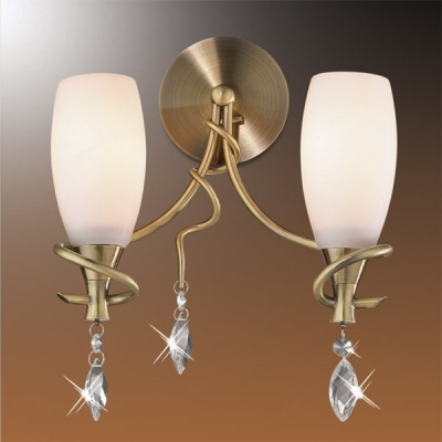 Светильник Odeon Light 1426/2W бронза KulaМодерн<br><br><br>S освещ. до, м2: 8<br>Тип товара: Светильник настенный бра<br>Скидка, %: 11<br>Тип лампы: накаливания / энергосбережения / LED-светодиодная<br>Тип цоколя: E14<br>Количество ламп: 2<br>Ширина, мм: 250<br>MAX мощность ламп, Вт: 60<br>Высота, мм: 270<br>Цвет арматуры: бронзовый