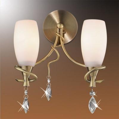 Светильник Odeon Light 1426/2W бронза KulaМодерн<br><br><br>S освещ. до, м2: 8<br>Тип лампы: накаливания / энергосбережения / LED-светодиодная<br>Тип цоколя: E14<br>Количество ламп: 2<br>Ширина, мм: 250<br>MAX мощность ламп, Вт: 60<br>Высота, мм: 270<br>Цвет арматуры: бронзовый