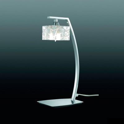 Светильник Mantra 1427 ZENхрустальные настольные лампы<br>Настольная лампа – это не просто источник дополнительного освещения, но и оригинальный элемент декора. Его можно установить в спальне, гостиной, кабинете и других комнатах. Интернет-магазин «Светодом» предлагает настольные лампы разных стилей по доступным ценам. Благодаря большому ассортименту Вы обязательно найдете в нашем каталоге именно ту модель, которую искали.   Настольная лампа Mantra 1427 – прекрасный вариант для завершения интерьера. Ее можно включить одновременно с люстрой для более яркого освещения или без нее для создания уютной атмосферы, настраивающей на отдых.   Купить настольную лампу Mantra 1427 Вы можете с помощью виртуальной «Корзины» или по контактным номерам, указанным на сайте.<br><br>S освещ. до, м2: 2<br>Тип лампы: галогенная / LED-светодиодная<br>Тип цоколя: G9<br>Цвет арматуры: серебристый хром<br>Количество ламп: 1<br>Ширина, мм: 115<br>Размеры: W 115 L 140 H 308<br>Длина, мм: 140<br>Высота, мм: 308<br>MAX мощность ламп, Вт: 40