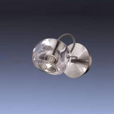 Светильник настенный Odeon light 1429/1W никель BollaОдиночные<br>Светильники-споты – это оригинальные изделия с современным дизайном. Они позволяют не ограничивать свою фантазию при выборе освещения для интерьера. Такие модели обеспечивают достаточно качественный свет. Благодаря компактным размерам Вы можете использовать несколько спотов для одного помещения.  Интернет-магазин «Светодом» предлагает необычный светильник-спот Odeon light 1429/1W по привлекательной цене. Эта модель станет отличным дополнением к люстре, выполненной в том же стиле. Перед оформлением заказа изучите характеристики изделия.  Купить светильник-спот Odeon light 1429/1W в нашем онлайн-магазине Вы можете либо с помощью формы на сайте, либо по указанным выше телефонам. Обратите внимание, что у нас склады не только в Москве и Екатеринбурге, но и других городах России.<br><br>S освещ. до, м2: 3<br>Тип лампы: галогенная / LED-светодиодная<br>Тип цоколя: GU10<br>Цвет арматуры: серый<br>Количество ламп: 1<br>Ширина, мм: 100<br>Высота, мм: 160<br>MAX мощность ламп, Вт: 50