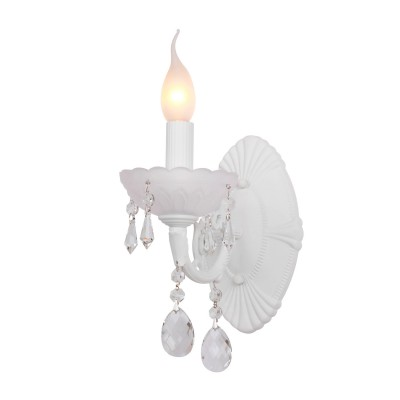 Светильник Favourite 1451-1WАрхив<br><br><br>S освещ. до, м2: 4<br>Тип лампы: накаливания / энергосбережения / LED-светодиодная<br>Тип цоколя: E14<br>Количество ламп: 1<br>Ширина, мм: 120<br>MAX мощность ламп, Вт: 60<br>Диаметр, мм мм: 240<br>Размеры: W120*H300*D240<br>Высота, мм: 300<br>Цвет арматуры: белый