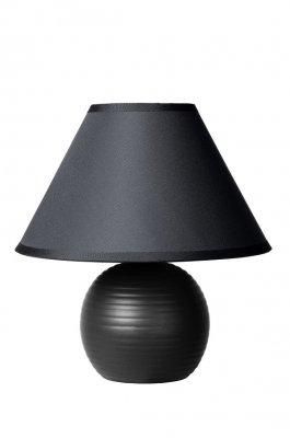 настольная лампа Lucide 14550/81/30 KADDYЧерные настольные лампы<br>Настольная лампа – это не просто источник дополнительного освещения, но и оригинальный элемент декора. Его можно установить в спальне, гостиной, кабинете и других комнатах. Интернет-магазин «Светодом» предлагает настольные лампы разных стилей по доступным ценам. Благодаря большому ассортименту Вы обязательно найдете в нашем каталоге именно ту модель, которую искали.   Настольная лампа Lucide 14550/81/30 – прекрасный вариант для завершения интерьера. Ее можно включить одновременно с люстрой для более яркого освещения или без нее для создания уютной атмосферы, настраивающей на отдых.   Купить настольную лампу Lucide 14550/81/30 Вы можете с помощью виртуальной «Корзины» или по контактным номерам, указанным на сайте.<br><br>Тип лампы: накал-я - энергосбер-я<br>Тип цоколя: E14<br>Цвет арматуры: черный<br>Количество ламп: 1<br>Диаметр, мм мм: 200<br>Высота, мм: 210<br>Оттенок (цвет): черный