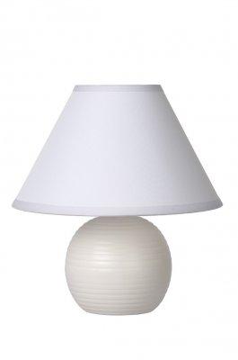 настольная лампа Lucide 14550/81/31 KADDYБелые настольные лампы<br>Настольная лампа – это не просто источник дополнительного освещения, но и оригинальный элемент декора. Его можно установить в спальне, гостиной, кабинете и других комнатах. Интернет-магазин «Светодом» предлагает настольные лампы разных стилей по доступным ценам. Благодаря большому ассортименту Вы обязательно найдете в нашем каталоге именно ту модель, которую искали.   Настольная лампа Lucide 14550/81/31 – прекрасный вариант для завершения интерьера. Ее можно включить одновременно с люстрой для более яркого освещения или без нее для создания уютной атмосферы, настраивающей на отдых.   Купить настольную лампу Lucide 14550/81/31 Вы можете с помощью виртуальной «Корзины» или по контактным номерам, указанным на сайте.<br><br>Тип лампы: накал-я - энергосбер-я<br>Тип цоколя: E14<br>Цвет арматуры: белый<br>Количество ламп: 1<br>Диаметр, мм мм: 200<br>Высота, мм: 210<br>Оттенок (цвет): белый