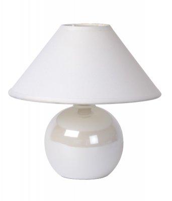 настольная лампа Lucide 14553/81/31 FAROБелые настольные лампы<br>Настольная лампа – это не просто источник дополнительного освещения, но и оригинальный элемент декора. Его можно установить в спальне, гостиной, кабинете и других комнатах. Интернет-магазин «Светодом» предлагает настольные лампы разных стилей по доступным ценам. Благодаря большому ассортименту Вы обязательно найдете в нашем каталоге именно ту модель, которую искали.   Настольная лампа Lucide 14553/81/31 – прекрасный вариант для завершения интерьера. Ее можно включить одновременно с люстрой для более яркого освещения или без нее для создания уютной атмосферы, настраивающей на отдых.   Купить настольную лампу Lucide 14553/81/31 Вы можете с помощью виртуальной «Корзины» или по контактным номерам, указанным на сайте.<br><br>S освещ. до, м2: 2<br>Тип лампы: накал-я - энергосбер-я<br>Тип цоколя: E14<br>Цвет арматуры: белый<br>Количество ламп: 1<br>Диаметр, мм мм: 200<br>Высота, мм: 210<br>Оттенок (цвет): белый<br>MAX мощность ламп, Вт: 40