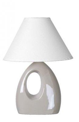 настольная лампа Lucide 14558/81/31 HOALБелые<br>Настольная лампа – это не просто источник дополнительного освещения, но и оригинальный элемент декора. Его можно установить в спальне, гостиной, кабинете и других комнатах. Интернет-магазин «Светодом» предлагает настольные лампы разных стилей по доступным ценам. Благодаря большому ассортименту Вы обязательно найдете в нашем каталоге именно ту модель, которую искали.   Настольная лампа Lucide 14558/81/31 – прекрасный вариант для завершения интерьера. Ее можно включить одновременно с люстрой для более яркого освещения или без нее для создания уютной атмосферы, настраивающей на отдых.   Купить настольную лампу Lucide 14558/81/31 Вы можете с помощью виртуальной «Корзины» или по контактным номерам, указанным на сайте.<br><br>S освещ. до, м2: 2<br>Тип лампы: накал-я - энергосбер-я<br>Тип цоколя: E14<br>Цвет арматуры: белый<br>Количество ламп: 1<br>Ширина, мм: 140<br>Длина, мм: 200<br>Высота, мм: 280<br>Оттенок (цвет): белый<br>MAX мощность ламп, Вт: 40