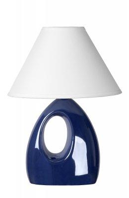 настольная лампа Lucide 14558/81/35 HOALСиние настольные лампы<br>Настольная лампа – это не просто источник дополнительного освещения, но и оригинальный элемент декора. Его можно установить в спальне, гостиной, кабинете и других комнатах. Интернет-магазин «Светодом» предлагает настольные лампы разных стилей по доступным ценам. Благодаря большому ассортименту Вы обязательно найдете в нашем каталоге именно ту модель, которую искали.   Настольная лампа Lucide 14558/81/35 – прекрасный вариант для завершения интерьера. Ее можно включить одновременно с люстрой для более яркого освещения или без нее для создания уютной атмосферы, настраивающей на отдых.   Купить настольную лампу Lucide 14558/81/35 Вы можете с помощью виртуальной «Корзины» или по контактным номерам, указанным на сайте.<br><br>S освещ. до, м2: 2<br>Тип лампы: накал-я - энергосбер-я<br>Тип цоколя: E14<br>Цвет арматуры: синий<br>Количество ламп: 1<br>Ширина, мм: 140<br>Длина, мм: 200<br>Высота, мм: 280<br>Оттенок (цвет): белый<br>MAX мощность ламп, Вт: 40