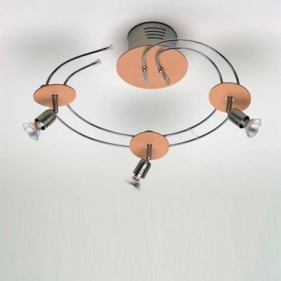 Люстра Brilliant G14633/70 Kos WoodСветильники для трека<br><br><br>Установка на натяжной потолок: Ограничено<br>S освещ. до, м2: 7<br>Крепление: Планка<br>Тип лампы: галогенная / LED-светодиодная<br>Тип цоколя: GU5.3 (MR16)<br>Количество ламп: 3<br>Диаметр, мм мм: 460<br>MAX мощность ламп, Вт: 35