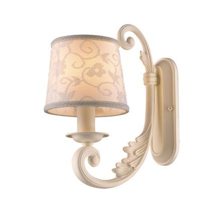 Светильник бра Favourite 1471-1WКлассические<br><br><br>Тип лампы: накал-я - энергосбер-я<br>Тип цоколя: E14<br>Количество ламп: 1<br>Ширина, мм: 140<br>MAX мощность ламп, Вт: 40<br>Диаметр, мм мм: 240<br>Размеры: W140*D240*H300<br>Высота, мм: 300<br>Цвет арматуры: белый