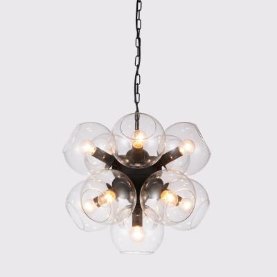 Люстра Favourite 1491-11PПодвесные<br><br><br>Установка на натяжной потолок: Да<br>S освещ. до, м2: 29<br>Крепление: Планка<br>Тип товара: Люстра<br>Скидка, %: 55<br>Тип лампы: накаливания / энергосбережения / LED-светодиодная<br>Тип цоколя: E14<br>Количество ламп: 11<br>MAX мощность ламп, Вт: 40<br>Диаметр, мм мм: 460<br>Размеры: D460*H380/1380<br>Высота, мм: 380 - 1380<br>Цвет арматуры: черный