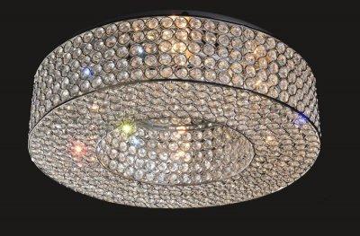 Citilux Арена CL319161 Люстра потолочнаяПотолочные<br><br><br>Установка на натяжной потолок: Ограничено<br>S освещ. до, м2: 24<br>Крепление: Планка<br>Тип товара: Люстра потолочная<br>Тип лампы: накаливания / энергосбережения / LED-светодиодная<br>Тип цоколя: E14<br>Количество ламп: 6<br>MAX мощность ламп, Вт: 60<br>Диаметр, мм мм: 450<br>Размеры: Диаметр 45см, Высота 13см<br>Высота, мм: 130<br>Оттенок (цвет): прозрачный, хром<br>Цвет арматуры: серебристый