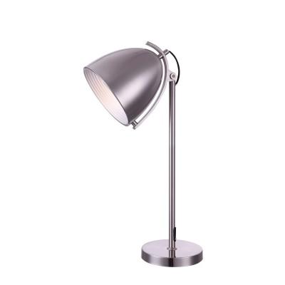 Светильник Globo 15130T JacksonХай тек<br>Настольная лампа – это не просто источник дополнительного освещения, но и оригинальный элемент декора. Его можно установить в спальне, гостиной, кабинете и других комнатах. Интернет-магазин «Светодом» предлагает настольные лампы разных стилей по доступным ценам. Благодаря большому ассортименту Вы обязательно найдете в нашем каталоге именно ту модель, которую искали.   Настольная лампа Globo 15130T – прекрасный вариант для завершения интерьера. Ее можно включить одновременно с люстрой для более яркого освещения или без нее для создания уютной атмосферы, настраивающей на отдых.   Купить настольную лампу Globo 15130T Вы можете с помощью виртуальной «Корзины» или по контактным номерам, указанным на сайте.<br><br>Тип лампы: накаливания / энергосберегающая / светодиодная<br>Тип цоколя: E27<br>Цвет арматуры: серый<br>Количество ламп: 1<br>Ширина, мм: 280<br>Длина, мм: 200<br>Высота, мм: 700<br>MAX мощность ламп, Вт: 60