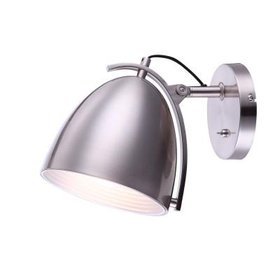 Светильник Globo 15130WХай-тек<br><br><br>Тип лампы: Накаливания / энергосбережения / светодиодная<br>Тип цоколя: E27<br>Цвет арматуры: серебристый<br>Количество ламп: 1<br>Ширина, мм: 255<br>Длина, мм: 200<br>Высота, мм: 230<br>Поверхность арматуры: матовый<br>MAX мощность ламп, Вт: 60