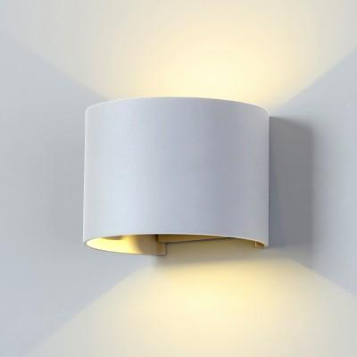 Уличный светильник Электростандарт 1518 TECHNO LED BLADE белыйБра хай тек стиля<br>Компания «Светодом» предлагает широкий ассортимент люстр от известных производителей. Представленные в нашем каталоге товары выполнены из современных материалов и обладают отличным качеством. Благодаря широкому ассортименту Вы сможете найти у нас люстру под любой интерьер. Мы предлагаем как классические варианты, так и современные модели, отличающиеся лаконичностью и простотой форм.