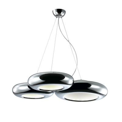 Люстра Favourite 1527-52PПодвесные<br><br><br>Установка на натяжной потолок: Да<br>Крепление: Крюк<br>Тип товара: Люстра подвесная<br>Тип лампы: LED - светодиодная<br>Тип цоколя: LED<br>MAX мощность ламп, Вт: 28<br>Диаметр, мм мм: 760<br>Размеры: L760*W700*H200/950<br>Высота, мм: 200 - 950<br>Цвет арматуры: серебристый