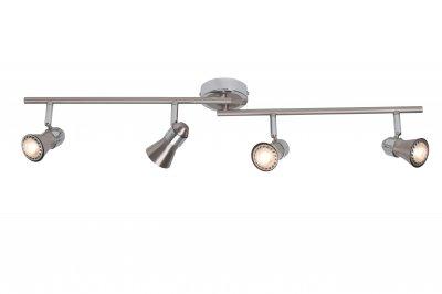 Светильник Brilliant G15432/77 SannyС 4 лампами<br>Светильники-споты – это оригинальные изделия с современным дизайном. Они позволяют не ограничивать свою фантазию при выборе освещения для интерьера. Такие модели обеспечивают достаточно качественный свет. Благодаря компактным размерам Вы можете использовать несколько спотов для одного помещения.  Интернет-магазин «Светодом» предлагает необычный светильник-спот Brilliant G15432/77 по привлекательной цене. Эта модель станет отличным дополнением к люстре, выполненной в том же стиле. Перед оформлением заказа изучите характеристики изделия.  Купить светильник-спот Brilliant G15432/77 в нашем онлайн-магазине Вы можете либо с помощью формы на сайте, либо по указанным выше телефонам. Обратите внимание, что у нас склады не только в Москве и Екатеринбурге, но и других городах России.<br>