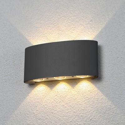 Уличный светильник Электростандарт 1551 TECHNO LED TWINKY TRIO серыйуличные настенные светильники<br>Компания «Светодом» предлагает широкий ассортимент люстр от известных производителей. Представленные в нашем каталоге товары выполнены из современных материалов и обладают отличным качеством. Благодаря широкому ассортименту Вы сможете найти у нас люстру под любой интерьер. Мы предлагаем как классические варианты, так и современные модели, отличающиеся лаконичностью и простотой форм.