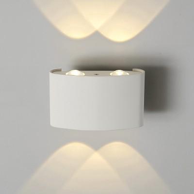 Настенный светильник Электростандарт 1555 TECHNO LED TWINKY DOUBLE белыйуличные настенные светильники<br>Компания «Светодом» предлагает широкий ассортимент люстр от известных производителей. Представленные в нашем каталоге товары выполнены из современных материалов и обладают отличным качеством. Благодаря широкому ассортименту Вы сможете найти у нас люстру под любой интерьер. Мы предлагаем как классические варианты, так и современные модели, отличающиеся лаконичностью и простотой форм.