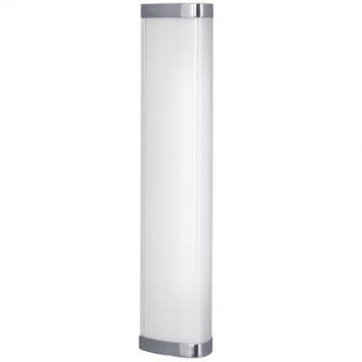 Eglo GITA 1 90526 светильник для ванной комнаты и зеркалДлинные<br>Настенно-потолочные светильники – это универсальные осветительные варианты, которые подходят для вертикального и горизонтального монтажа. В интернет-магазине «Светодом» Вы можете приобрести подобные модели по выгодной стоимости. В нашем каталоге представлены как бюджетные варианты, так и эксклюзивные изделия от производителей, которые уже давно заслужили доверие дизайнеров и простых покупателей. <br>Настенно-потолочный светильник Eglo 90526 станет прекрасным дополнением к основному освещению. Благодаря качественному исполнению и применению современных технологий при производстве эта модель будет радовать Вас своим привлекательным внешним видом долгое время. <br>Приобрести настенно-потолочный светильник Eglo 90526 можно, находясь в любой точке России. Компания «Светодом» осуществляет доставку заказов не только по Москве и Екатеринбургу, но и в остальные города.<br><br>S освещ. до, м2: 2<br>Тип цоколя: G5<br>Количество ламп: 1<br>Ширина, мм: 75<br>MAX мощность ламп, Вт: 2<br>Размеры основания, мм: 0<br>Длина, мм: 350<br>Высота, мм: 75<br>Оттенок (цвет): белый<br>Цвет арматуры: серебристый<br>Общая мощность, Вт: 1X8W