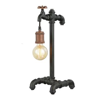 Favourite Faucet 1581-1T Настольная лампаМорской стиль<br>Настольная лампа – это не просто источник дополнительного освещения, но и оригинальный элемент декора. Его можно установить в спальне, гостиной, кабинете и других комнатах. Интернет-магазин «Светодом» предлагает настольные лампы разных стилей по доступным ценам. Благодаря большому ассортименту Вы обязательно найдете в нашем каталоге именно ту модель, которую искали.   Настольная лампа Favourite 1581-1T – прекрасный вариант для завершения интерьера. Ее можно включить одновременно с люстрой для более яркого освещения или без нее для создания уютной атмосферы, настраивающей на отдых.   Купить настольную лампу Favourite 1581-1T Вы можете с помощью виртуальной «Корзины» или по контактным номерам, указанным на сайте.<br><br>Тип цоколя: E27<br>Количество ламп: 1<br>MAX мощность ламп, Вт: 60<br>Размеры: L215*W195*H456