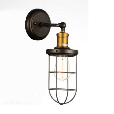 Светильник настенный бра Favourite 1589-1W Dockбра в морском стиле<br><br><br>Тип лампы: Накаливания / энергосбережения / светодиодная<br>Тип цоколя: E27<br>Цвет арматуры: бронзовый с чернением<br>Количество ламп: 1<br>Размеры: W120*D190*H340<br>MAX мощность ламп, Вт: 40W