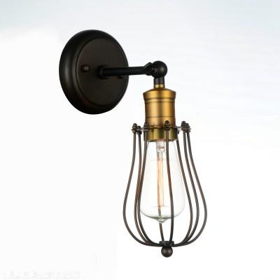 Светильник настенный бра Favourite 1590-1W DockМорской стиль<br><br><br>Тип лампы: Накаливания / энергосбережения / светодиодная<br>Тип цоколя: E27<br>Цвет арматуры: бронзовый с чернением<br>Количество ламп: 1<br>Размеры: W120*D190*H340<br>MAX мощность ламп, Вт: 40W