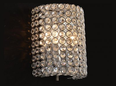 Citilux Арена CL319321 Светильник настенный браХрустальные<br><br><br>S освещ. до, м2: 8<br>Тип товара: Светильник настенный бра<br>Тип лампы: накаливания / энергосбережения / LED-светодиодная<br>Тип цоколя: E14<br>Количество ламп: 2<br>Ширина, мм: 160<br>MAX мощность ламп, Вт: 60<br>Размеры: Высота 20см, Ширина 16см, Глубина 10см<br>Длина, мм: 100<br>Высота, мм: 200<br>Поверхность арматуры: глянцевый<br>Оттенок (цвет): прозрачный, хром<br>Цвет арматуры: серебристый