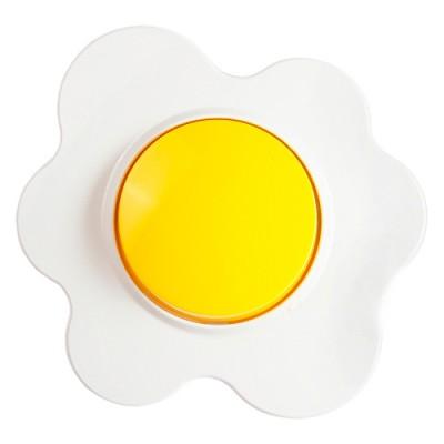 Happy Цветок - Переключатель 1кл. на два направ. (зажимы без винтов) 10A, бело/желтый - 16.51.005Переключатели 1-кл.<br><br><br>Оттенок (цвет): желтый