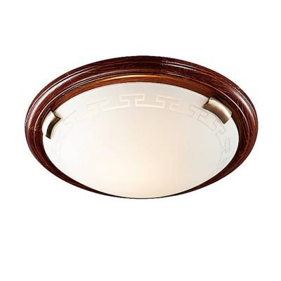 Сонекс GRECA WOOD 160/K настенно-потолочный светильникКруглые<br>Настенно-потолочные светильники – это универсальные осветительные варианты, которые подходят для вертикального и горизонтального монтажа. В интернет-магазине «Светодом» Вы можете приобрести подобные модели по выгодной стоимости. В нашем каталоге представлены как бюджетные варианты, так и эксклюзивные изделия от производителей, которые уже давно заслужили доверие дизайнеров и простых покупателей.  Настенно-потолочный светильник Сонекс 160/K станет прекрасным дополнением к основному освещению. Благодаря качественному исполнению и применению современных технологий при производстве эта модель будет радовать Вас своим привлекательным внешним видом долгое время. Приобрести настенно-потолочный светильник Сонекс 160/K можно, находясь в любой точке России. Компания «Светодом» осуществляет доставку заказов не только по Москве и Екатеринбургу, но и в остальные города.<br><br>S освещ. до, м2: 6<br>Тип лампы: Накаливания / энергосбережения / светодиодная<br>Тип цоколя: E27<br>Количество ламп: 2<br>MAX мощность ламп, Вт: 60<br>Диаметр, мм мм: 360<br>Высота, мм: 80