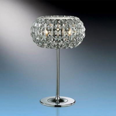Светильник настольный Odeon light 1606/3T хром CristaХрустальные<br>Настольная лампа – это не просто источник дополнительного освещения, но и оригинальный элемент декора. Его можно установить в спальне, гостиной, кабинете и других комнатах. Интернет-магазин «Светодом» предлагает настольные лампы разных стилей по доступным ценам. Благодаря большому ассортименту Вы обязательно найдете в нашем каталоге именно ту модель, которую искали.   Настольная лампа Odeon light 1606/3T  – прекрасный вариант для завершения интерьера. Ее можно включить одновременно с люстрой для более яркого освещения или без нее для создания уютной атмосферы, настраивающей на отдых.   Купить настольную лампу Odeon light 1606/3T  Вы можете с помощью виртуальной «Корзины» или по контактным номерам, указанным на сайте.<br><br>S освещ. до, м2: 8<br>Тип лампы: галогенная / LED-светодиодная<br>Тип цоколя: G9<br>Количество ламп: 3<br>MAX мощность ламп, Вт: 40<br>Диаметр, мм мм: 240<br>Высота, мм: 390<br>Цвет арматуры: серебристый