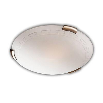 Сонекс GRECA 161/K настенно-потолочный светильникКруглые<br>Настенно-потолочные светильники – это универсальные осветительные варианты, которые подходят для вертикального и горизонтального монтажа. В интернет-магазине «Светодом» Вы можете приобрести подобные модели по выгодной стоимости. В нашем каталоге представлены как бюджетные варианты, так и эксклюзивные изделия от производителей, которые уже давно заслужили доверие дизайнеров и простых покупателей.  Настенно-потолочный светильник Сонекс 161/K станет прекрасным дополнением к основному освещению. Благодаря качественному исполнению и применению современных технологий при производстве эта модель будет радовать Вас своим привлекательным внешним видом долгое время. Приобрести настенно-потолочный светильник Сонекс 161/K можно, находясь в любой точке России.<br><br>S освещ. до, м2: 6<br>Тип лампы: Накаливания / энергосбережения / светодиодная<br>Тип цоколя: E27<br>Количество ламп: 2<br>MAX мощность ламп, Вт: 60<br>Диаметр, мм мм: 300<br>Высота, мм: 80