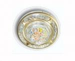 Светильник галогенный 16152 GQF MR16 круг компас, цветное конфетти, сатин-никельКруглые<br>Встраиваемые светильники – популярное осветительное оборудование, которое можно использовать в качестве основного источника или в дополнение к люстре. Они позволяют создать нужную атмосферу атмосферу и привнести в интерьер уют и комфорт.   Интернет-магазин «Светодом» предлагает стильный встраиваемый светильник Degran 16152 GQF MR16 круг компас, цветное конфетти, сатин-никель. Данная модель достаточно универсальна, поэтому подойдет практически под любой интерьер. Перед покупкой не забудьте ознакомиться с техническими параметрами, чтобы узнать тип цоколя, площадь освещения и другие важные характеристики.   Приобрести встраиваемый светильник Degran 16152 GQF MR16 круг компас, цветное конфетти, сатин-никель в нашем онлайн-магазине Вы можете либо с помощью «Корзины», либо по контактным номерам. Мы развозим заказы по Москве, Екатеринбургу и остальным российским городам.<br><br>S освещ. до, м2: 3<br>Тип лампы: галогенная<br>Тип цоколя: GU5.3 (MR16)<br>Количество ламп: 1<br>MAX мощность ламп, Вт: 50<br>Цвет арматуры: серебристый