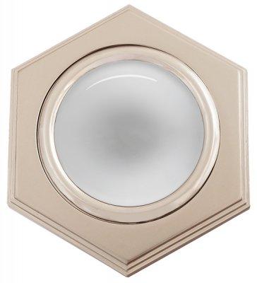 Светильник накаливания 16172 EQ R50 перл. никель+хромДекоративные<br>Встраиваемые светильники – популярное осветительное оборудование, которое можно использовать в качестве основного источника или в дополнение к люстре. Они позволяют создать нужную атмосферу атмосферу и привнести в интерьер уют и комфорт.   Интернет-магазин «Светодом» предлагает стильный встраиваемый светильник Degran 16172 EQ R50 перл. никель+хром. Данная модель достаточно универсальна, поэтому подойдет практически под любой интерьер. Перед покупкой не забудьте ознакомиться с техническими параметрами, чтобы узнать тип цоколя, площадь освещения и другие важные характеристики.   Приобрести встраиваемый светильник Degran 16172 EQ R50 перл. никель+хром в нашем онлайн-магазине Вы можете либо с помощью «Корзины», либо по контактным номерам. Мы развозим заказы по Москве, Екатеринбургу и остальным российским городам.<br><br>S освещ. до, м2: 3<br>Тип цоколя: E14<br>Количество ламп: 1<br>MAX мощность ламп, Вт: 50<br>Диаметр, мм мм: 100<br>Диаметр врезного отверстия, мм: 83<br>Цвет арматуры: серебристый