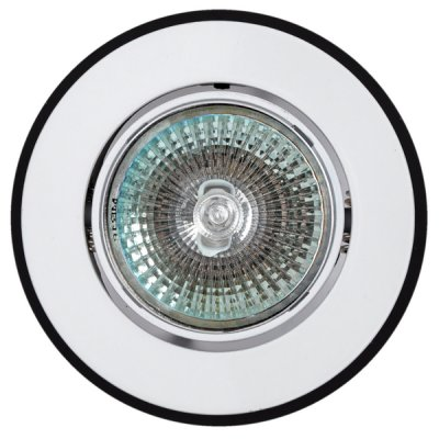 Светильник 16191 WV MR16, круг, белый+черныйКруглые<br>Встраиваемые светильники – популярное осветительное оборудование, которое можно использовать в качестве основного источника или в дополнение к люстре. Они позволяют создать нужную атмосферу атмосферу и привнести в интерьер уют и комфорт.   Интернет-магазин «Светодом» предлагает стильный встраиваемый светильник Degran 16191 WV MR16, круг, белый+черный. Данная модель достаточно универсальна, поэтому подойдет практически под любой интерьер. Перед покупкой не забудьте ознакомиться с техническими параметрами, чтобы узнать тип цоколя, площадь освещения и другие важные характеристики.   Приобрести встраиваемый светильник Degran 16191 WV MR16, круг, белый+черный в нашем онлайн-магазине Вы можете либо с помощью «Корзины», либо по контактным номерам. Мы развозим заказы по Москве, Екатеринбургу и остальным российским городам.<br><br>Тип лампы: галогенная<br>Тип цоколя: GU5.3 (MR16)<br>MAX мощность ламп, Вт: 50<br>Диаметр, мм мм: 93<br>Диаметр врезного отверстия, мм: 70