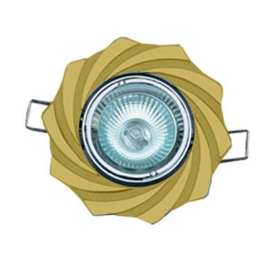Светильник галогеновый 16197 JA MR16, перл.белый+золотоДекоративные<br>Встраиваемые светильники – популярное осветительное оборудование, которое можно использовать в качестве основного источника или в дополнение к люстре. Они позволяют создать нужную атмосферу атмосферу и привнести в интерьер уют и комфорт.   Интернет-магазин «Светодом» предлагает стильный встраиваемый светильник Degran 16197 JA MR16, перл.белый+золото. Данная модель достаточно универсальна, поэтому подойдет практически под любой интерьер. Перед покупкой не забудьте ознакомиться с техническими параметрами, чтобы узнать тип цоколя, площадь освещения и другие важные характеристики.   Приобрести встраиваемый светильник Degran 16197 JA MR16, перл.белый+золото в нашем онлайн-магазине Вы можете либо с помощью «Корзины», либо по контактным номерам. Мы развозим заказы по Москве, Екатеринбургу и остальным российским городам.<br><br>S освещ. до, м2: 3<br>Тип лампы: галогенная<br>Тип цоколя: GU5.3 (MR16)<br>Количество ламп: 1<br>MAX мощность ламп, Вт: 50<br>Диаметр, мм мм: 100<br>Диаметр врезного отверстия, мм: 78<br>Цвет арматуры: серебристый