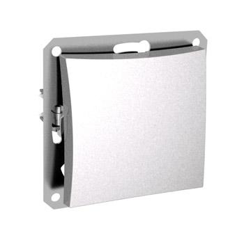 Lexel Дуэт белый Одноклавишный переключатель (сх.6) (SE WDE000161)Белый<br><br><br>Оттенок (цвет): белый