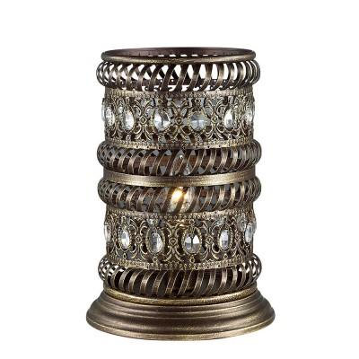 Светильник Favourite 1620-1TВосточный стиль<br>Настольная лампа – это не просто источник дополнительного освещения, но и оригинальный элемент декора. Его можно установить в спальне, гостиной, кабинете и других комнатах. Интернет-магазин «Светодом» предлагает настольные лампы разных стилей по доступным ценам. Благодаря большому ассортименту Вы обязательно найдете в нашем каталоге именно ту модель, которую искали.   Настольная лампа Favourite 1620-1T – прекрасный вариант для завершения интерьера. Ее можно включить одновременно с люстрой для более яркого освещения или без нее для создания уютной атмосферы, настраивающей на отдых.   Купить настольную лампу Favourite 1620-1T Вы можете с помощью виртуальной «Корзины» или по контактным номерам, указанным на сайте.<br><br>Тип лампы: Накаливания / энергосбережения / светодиодная<br>Тип цоколя: E14<br>Количество ламп: 1<br>MAX мощность ламп, Вт: 40<br>Размеры: D180*H260<br>Цвет арматуры: Золотой