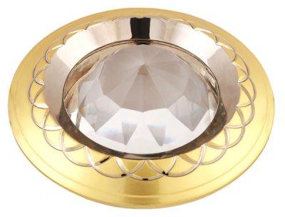 Светильник 16314 BQ MR16, перл.золото+хромКруглые<br>Встраиваемые светильники – популярное осветительное оборудование, которое можно использовать в качестве основного источника или в дополнение к люстре. Они позволяют создать нужную атмосферу атмосферу и привнести в интерьер уют и комфорт. <br> Интернет-магазин «Светодом» предлагает стильный встраиваемый светильник Degran 16314 BQ MR16, перл.золото+хром. Данная модель достаточно универсальна, поэтому подойдет практически под любой интерьер. Перед покупкой не забудьте ознакомиться с техническими параметрами, чтобы узнать тип цоколя, площадь освещения и другие важные характеристики. <br> Приобрести встраиваемый светильник Degran 16314 BQ MR16, перл.золото+хром в нашем онлайн-магазине Вы можете либо с помощью «Корзины», либо по контактным номерам. Мы развозим заказы по Москве, Екатеринбургу и остальным российским городам.<br><br>Тип лампы: галогенная<br>Тип цоколя: GU5.3 (MR16)<br>MAX мощность ламп, Вт: 50<br>Диаметр, мм мм: 82<br>Диаметр врезного отверстия, мм: 65